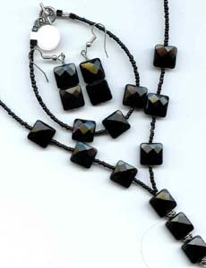 Black Quartz 3 Piece Set - EAbqs