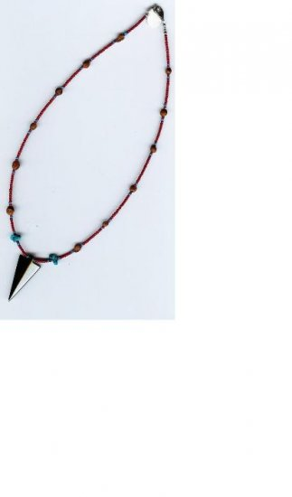 Hematite Arrowhead Necklace - EAhan