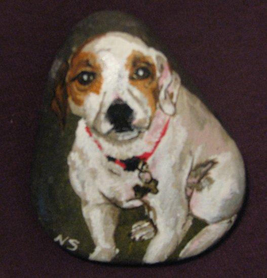 Pet Portrait River Rock (Small - 1 Pet) - PRrrs