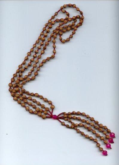 Navajo Multi Strand Cedar Bead Necklace  - EAnms