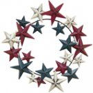 Americana Primitive Star Wreath - CWG108920