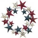 Americana Primitive Star Wreath - CWG108920
