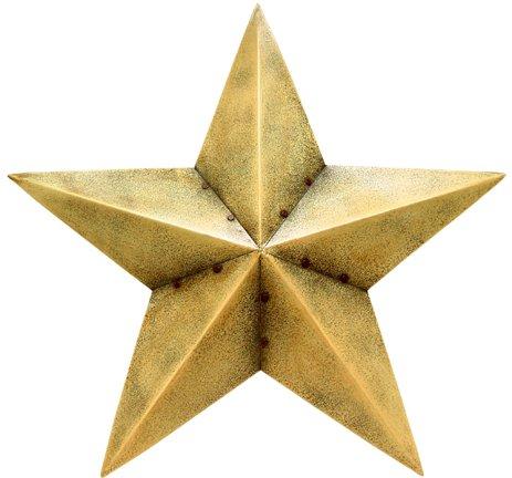 Ivory Barn Star - 18 Inch - CWG103084