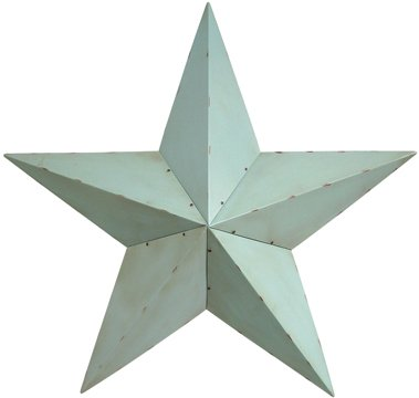 Robin's Egg Blue Barn Star - 30 Inch - CWG108295
