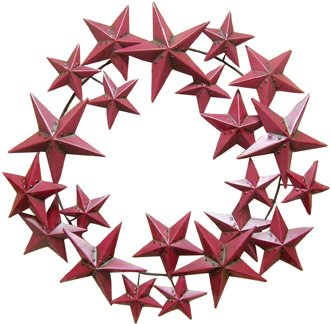 Primitive Star Wreath - CWG108196