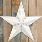 White Barn Star 12 Inch - CWG5151