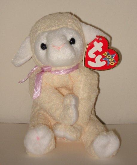 TY Sheep2 Beanie Baby - NNs2b