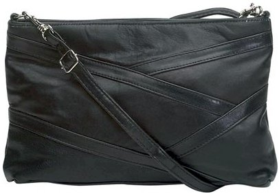 Black Leather Purse - BBlp