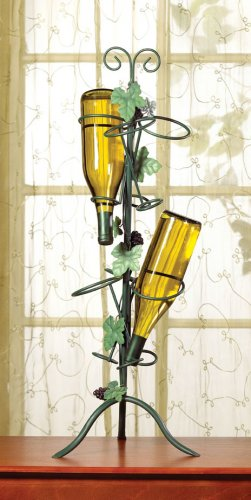 WINE BOTTLES BOTTLE GLASS HOLDER RACK - MM35664