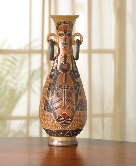 Aboriginal Pattern Vase - MM37595