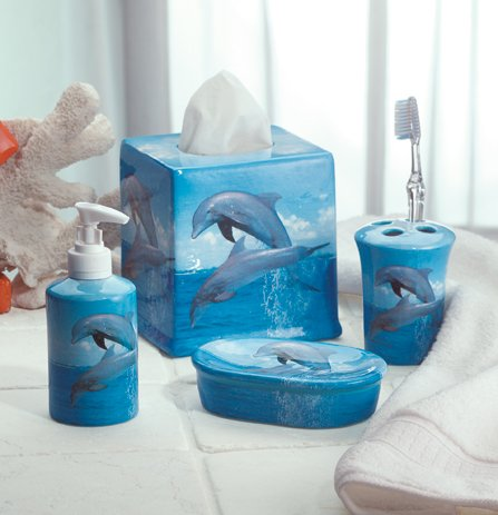 Dolphin Bathroom 4 pc. Set - MM33836