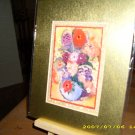 Flowers in Blue Vase 5 x 7 - IAfb57