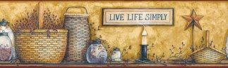 Baskets & Jars Wall Border - CWIG86191