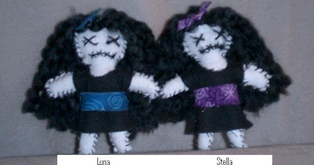 Stella or Luna Punk Worry Doll - EPLsl