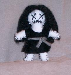 Voodoo Punk Worry Doll - EPLv1