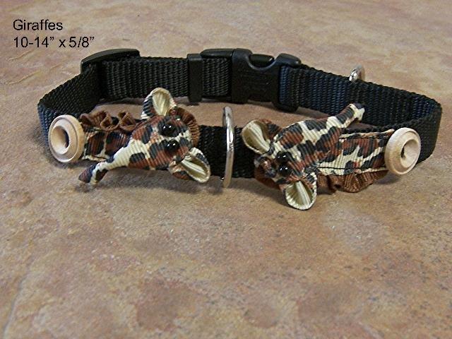 Groovy Giraffes Dog Collar - BTgg