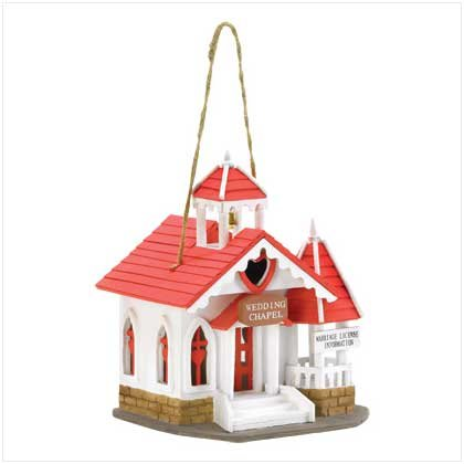 Wedding Chapel Birdhouse - MM38276