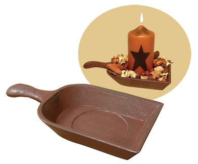 Grain Scoop Candle Holder - CWGJHE5308G