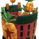 Pineapple & House Votive Holder  - CWG27725