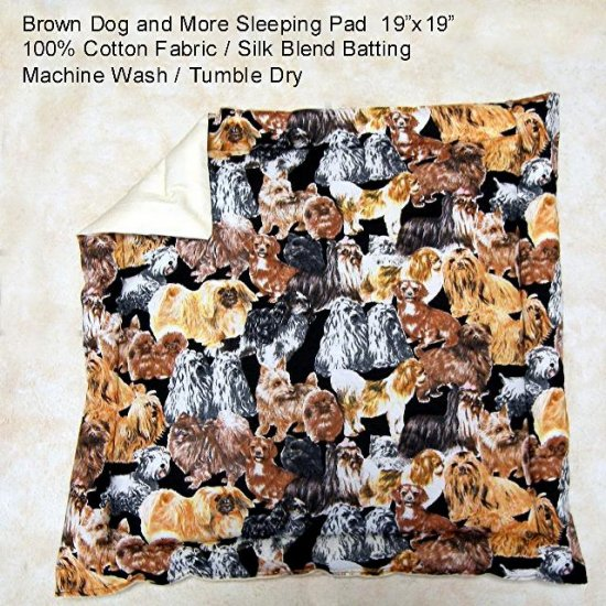 Brown Dogs & More Pet Sleeping Pad - BTbdm