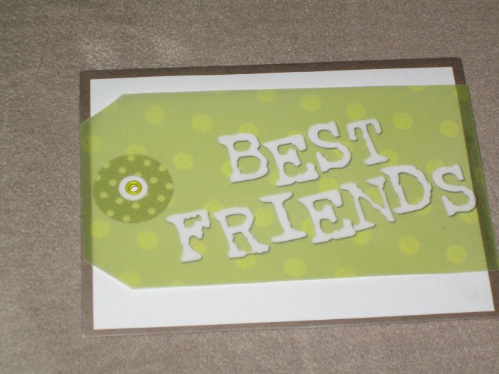 Best Friends Greeting Card - CTbf