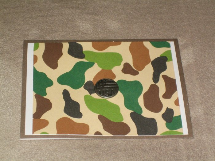 Military Thank You Card - CTty