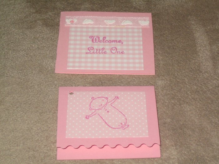 Baby Girl Gift Tags - CTbg
