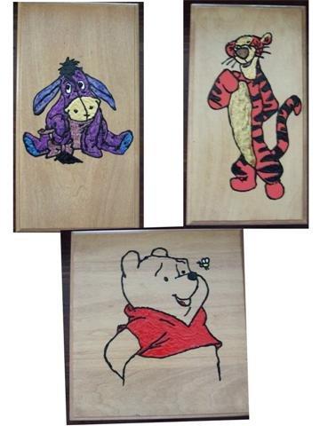 Winnie the Pooh & Friends Nursery Wall Art - 4Uwa