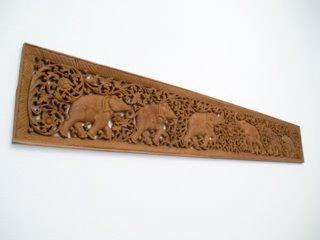 Elephant Mural Carving - MEem