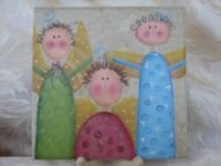Three Angels Tile - Large - PJtax