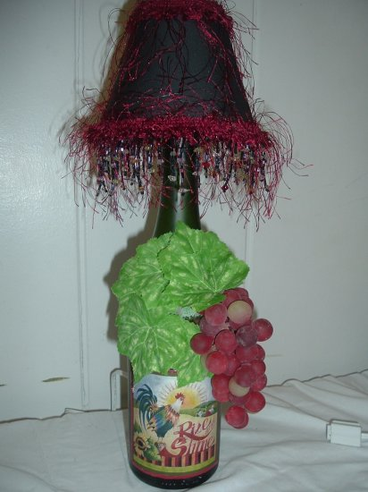 Rise and Shine Wine Bottle Lamp - PCrs