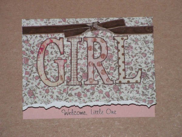 Baby Girl Greeting Card - CCgg