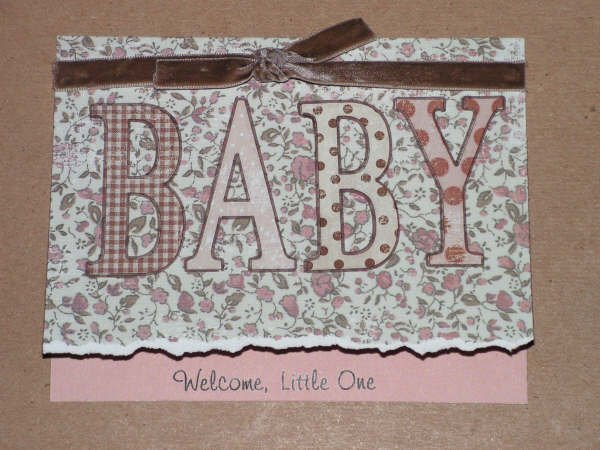 New Baby Greeting Card - CCnb
