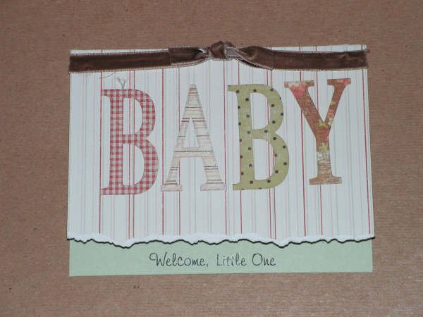 Welcome Baby Greeting Card - CCba