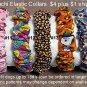 Scrunchi Elastic Dog Collars - BTsc
