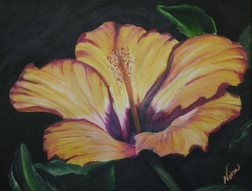 Yellow Flower Print - NWyf