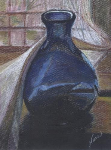 Blue Vase Print - NWbvp