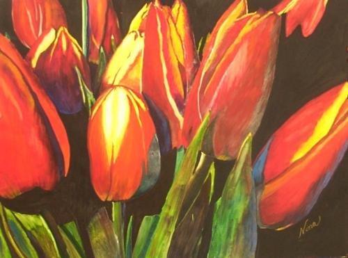Orange Tulips Print - NWotp