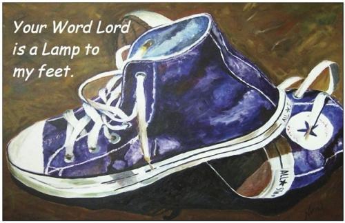 Lamp to My Feet Print - NWlfp