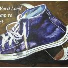 Lamp to My Feet Print - NWlfp