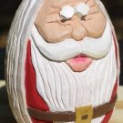 Wooden Santa Egg - OCse