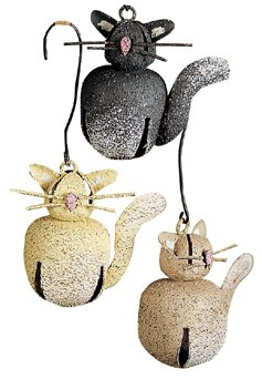 Kitty Cat Bells - Set of 6 - G102487
