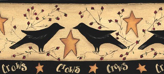 Crow Wall Border - G71125