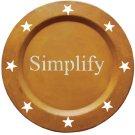 Simplify Metal Plate - GJHE5349