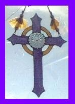 Stained Glass Cross - SGcr