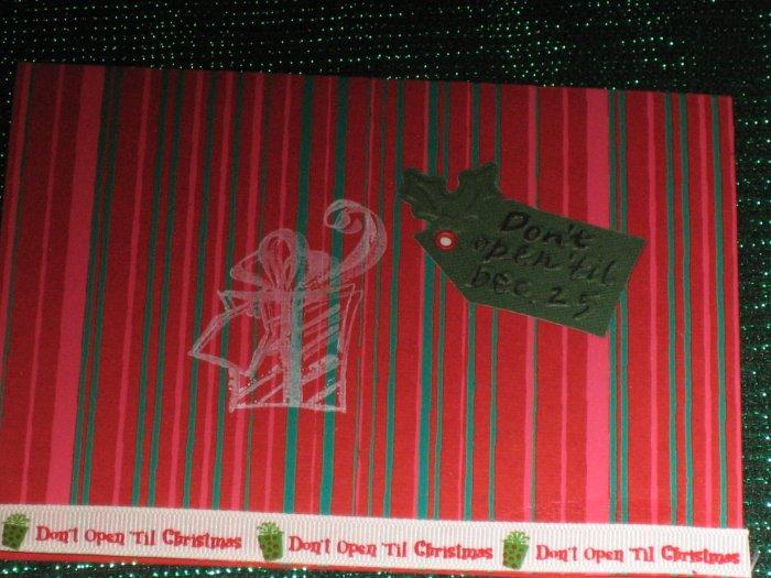 Christmas Cheer Greeting Card - CTcc