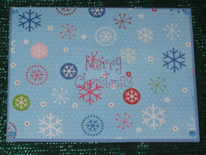 Snowflakes Greeting Card - CTsn