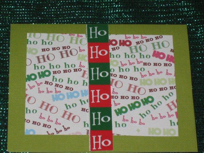 Ho Ho Ho Holiday Greeting Card - CTho
