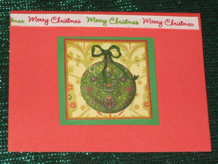 Ornament Holiday Greeting Card - CTor