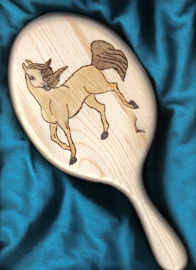 Prancing Pony Handheld Mirror - JWpp